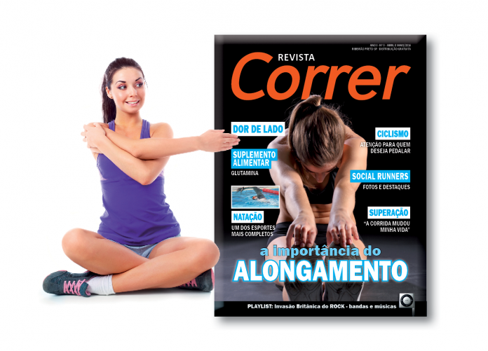 Revista Correr 3 - Alongamento e Corrida
