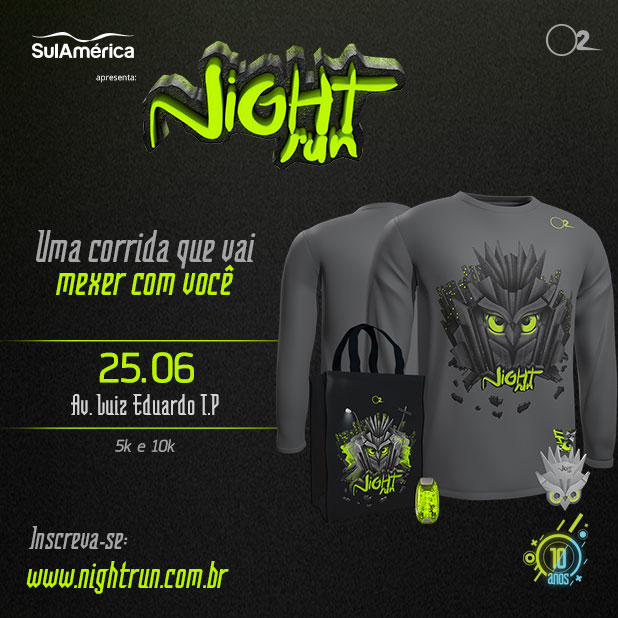 Corrida Night Run 2016 Revista Correr 1