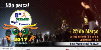 Vem ai 8ª Corrida Sermed Night Runners | Revista Correr