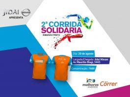 Corrida Solidaria Ribeirao Preto - Revista Correr - Jidai Nissan