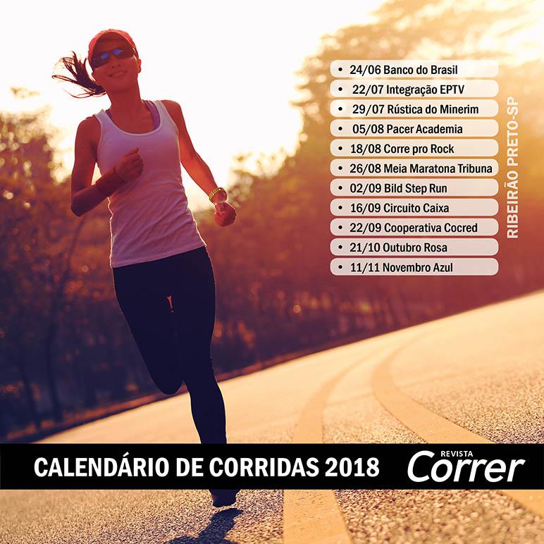 Calendário de Corridas de Rua 2018   Revista Correr