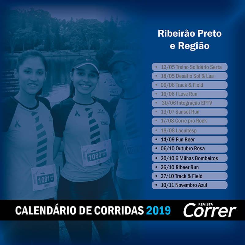 Calendário de Corridas 2019 | Revista Correr