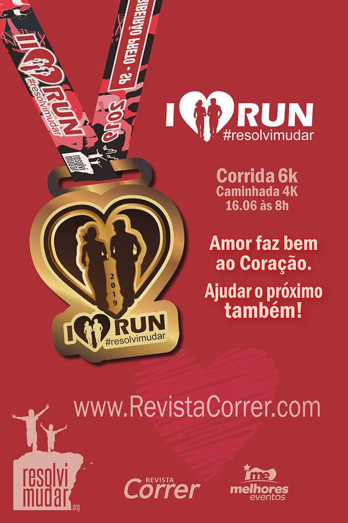 Corrida I Love Run 2019 Revista Correr
