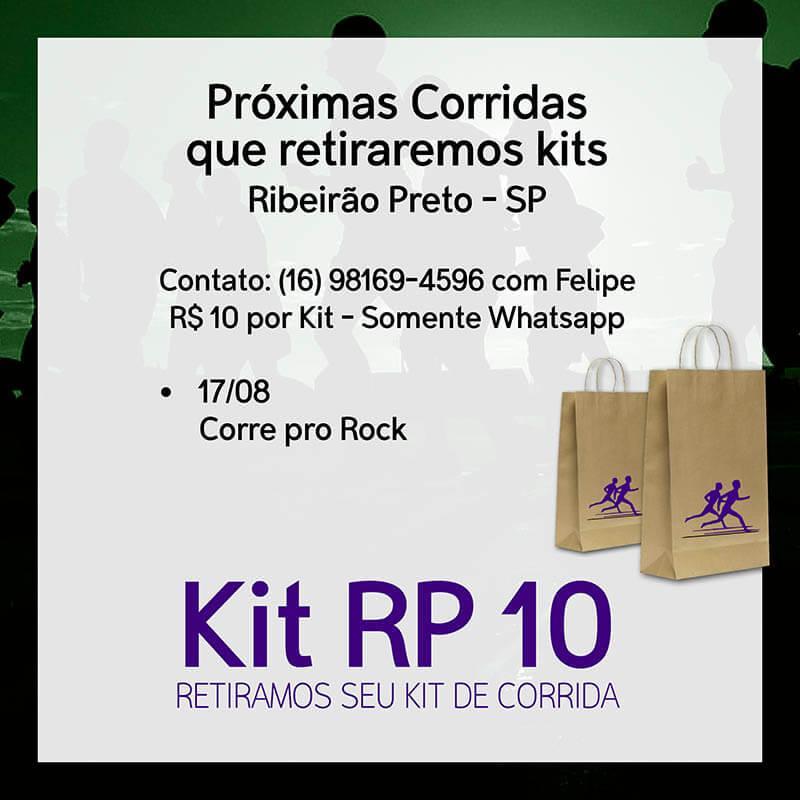 Kit RP 10 - retirada de kit