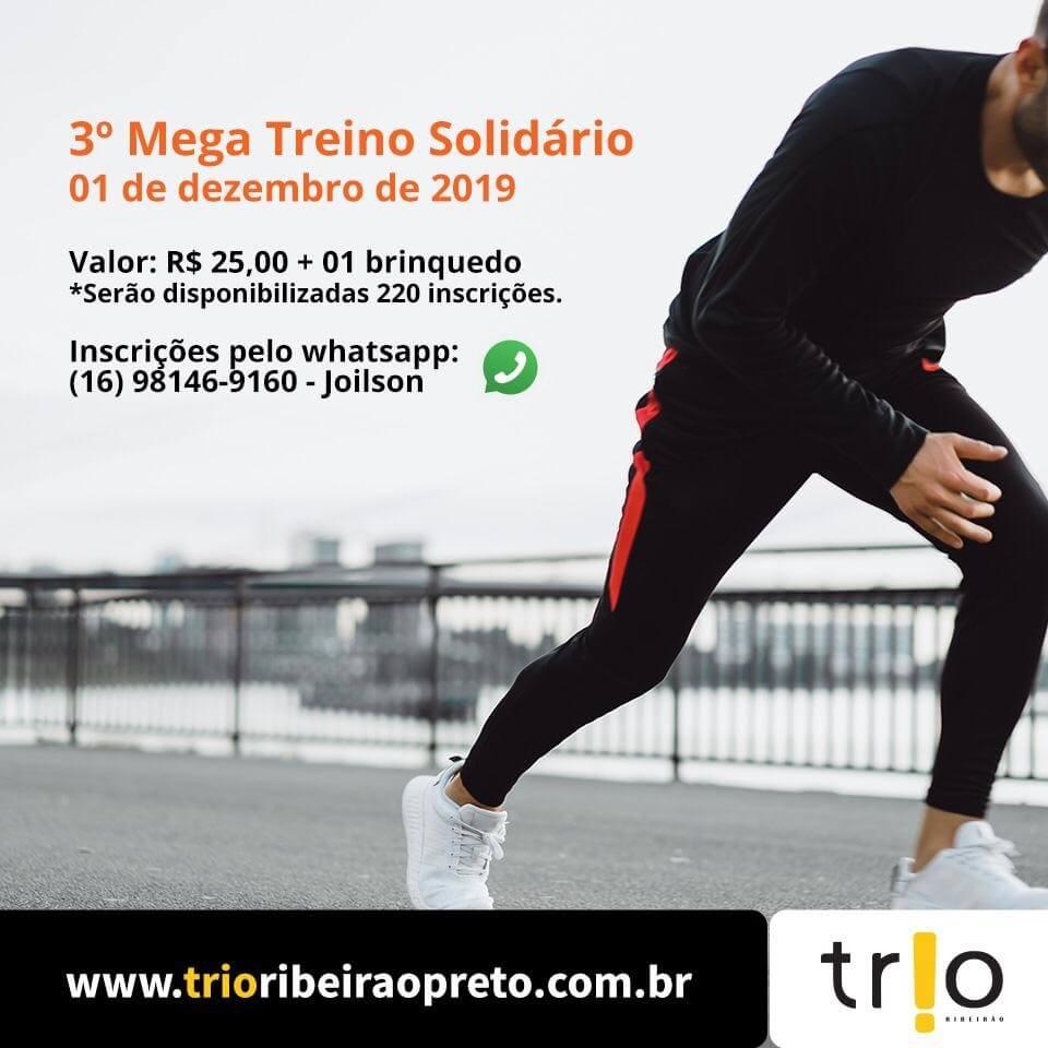 Mega Treino Solidário Trio Ribeirão | Revista Correr