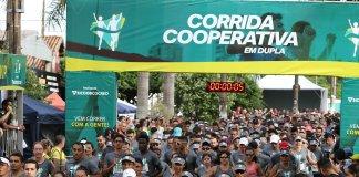 Corrida Cooperativa em Dupla Sicoob Cocred 2019 - Revista Correr